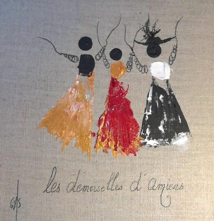 Gas - Les Demoiselles d'Amiens - Friandise  280819