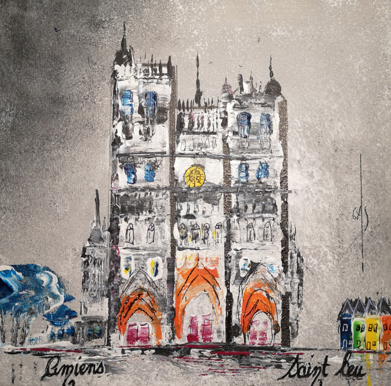 GAS - Amiens - la Cathédrale - numéroté T202002CAT