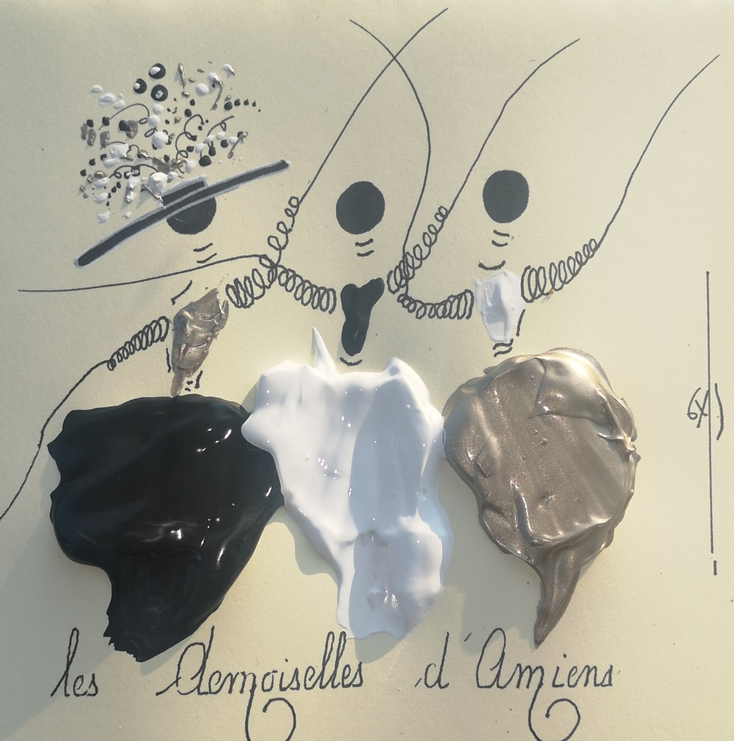GAS - Les Demoiselles d'Amiens. ref 20200403 lda