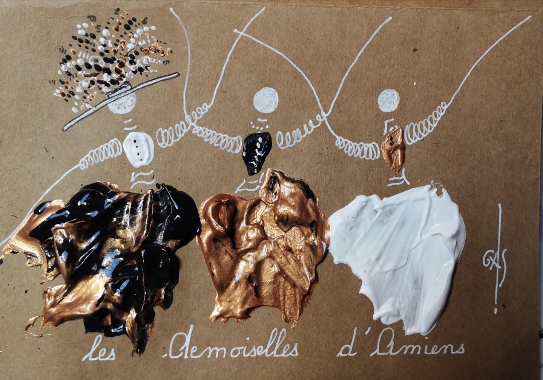 GAS - Les Demoiselles d'Amiens   - numéroté E2020.02...LDA