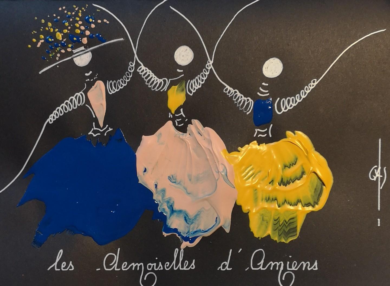 Gas - Les Demoiselles d'Amiens -  réf E2020.02.13