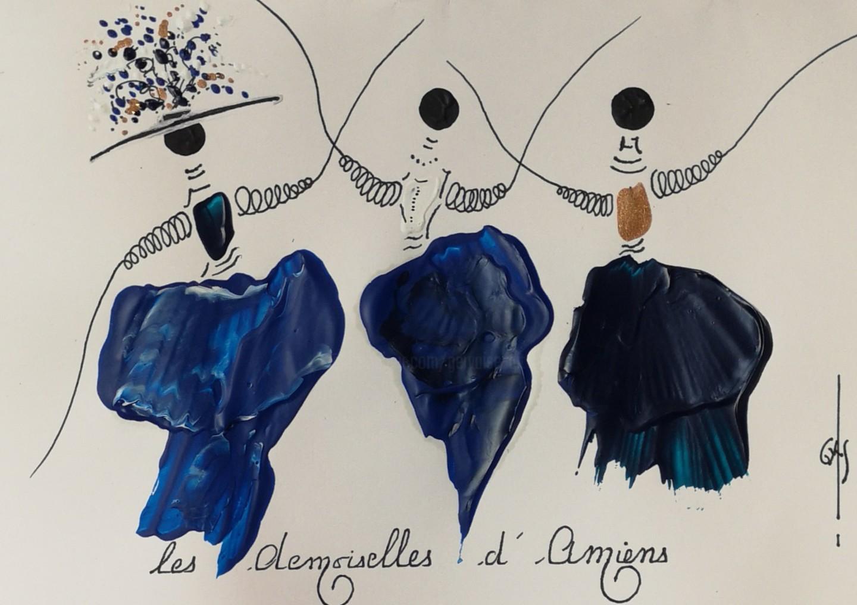 Gas - Les Demoiselles d'Amiens -  réf E2020.02.18