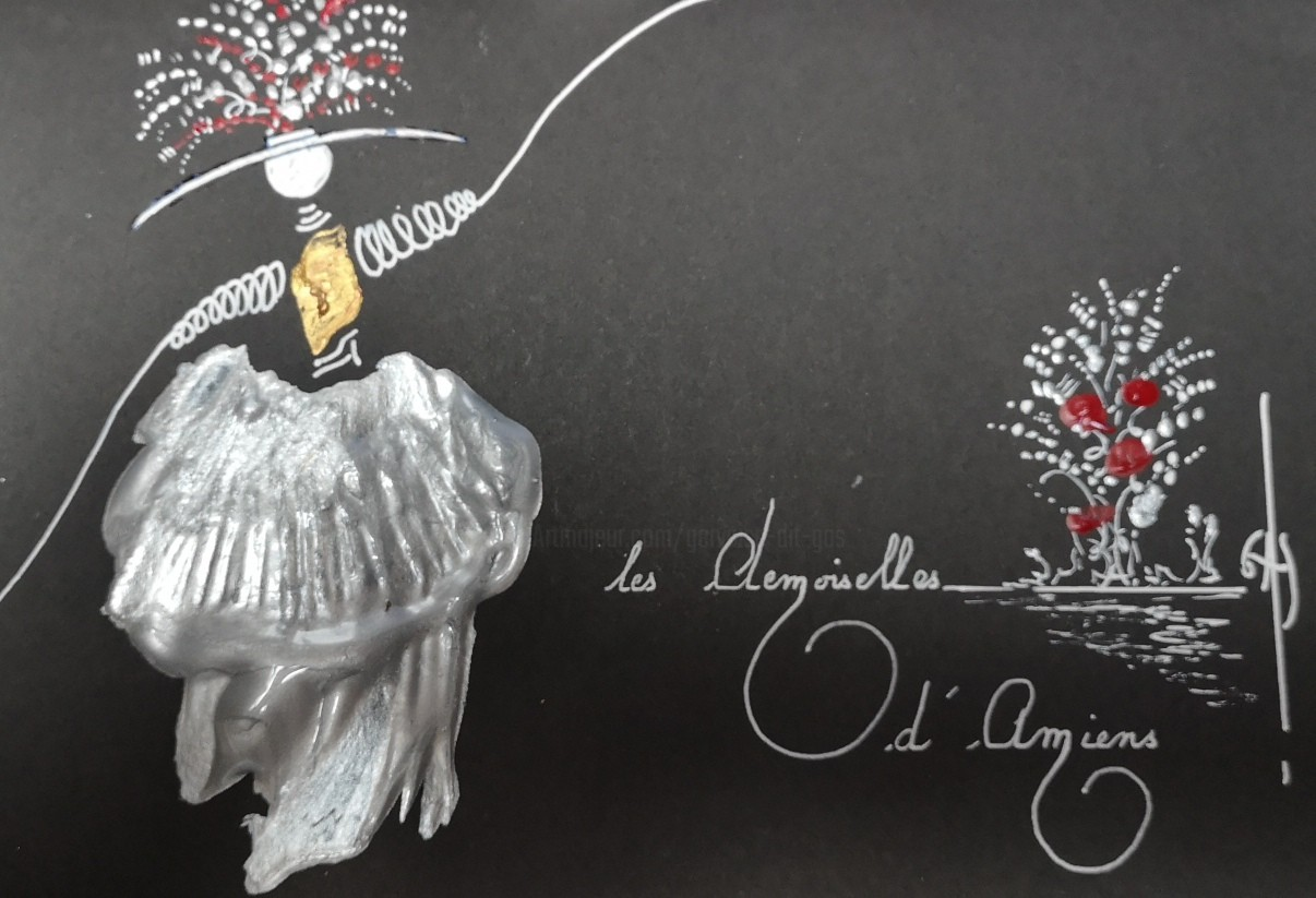 Gas - Les Demoiselles d'Amiens -  réf E2020.02.25