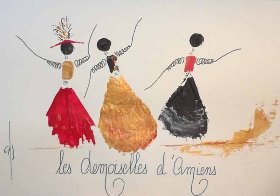 Gas - Les Demoiselles d'Amiens -  réf E 210919 12