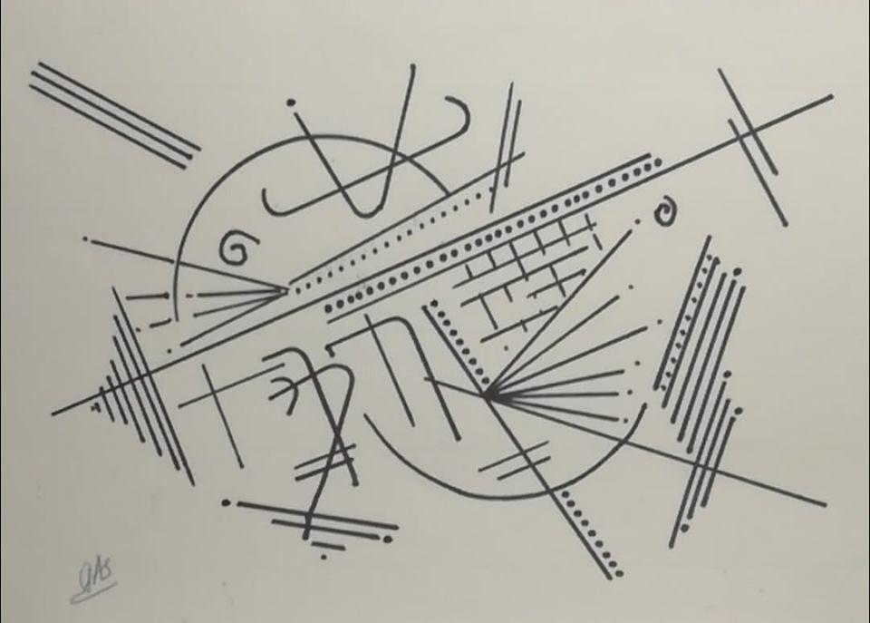 Gas - calligraphie structurelle - Réf E20190930F