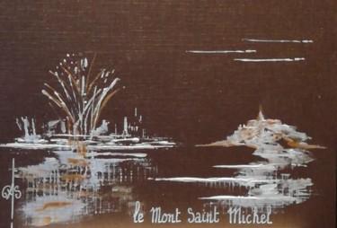 Récréation. esquisse le Mont Saint Michel