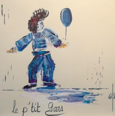 """"""" Le P'tit Gars """" - Carte postale,  Réf E20191005A -"""
